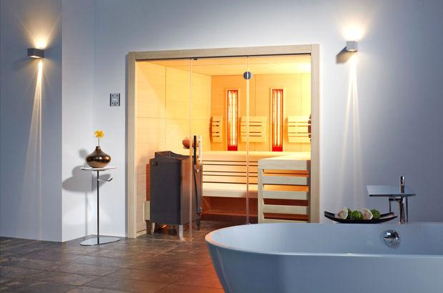 Mit Dem Einbau Einer Sauna Oder Einer Infrarotkabine Erfüllen Sich Viele  Hausbesitzer Einen Lang Gehegten Wunsch
