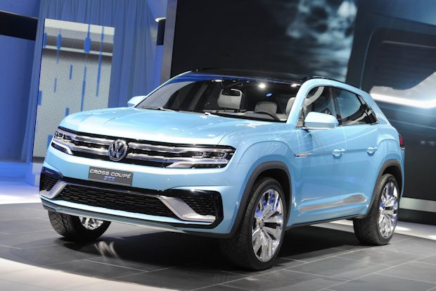 Feiert in Detroit Weltpremiere – die SUV Studie Cross Coupé GTE.