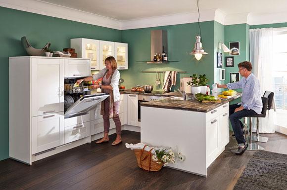 Küchen sind heute oft der mittelpunkt des hauses entsprechend hoch sind die erwartungen an die