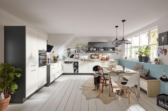 ergonomisch angepasste arbeitsh he bei der lifestyle k che spielt die funktionalit t eine immer. Black Bedroom Furniture Sets. Home Design Ideas