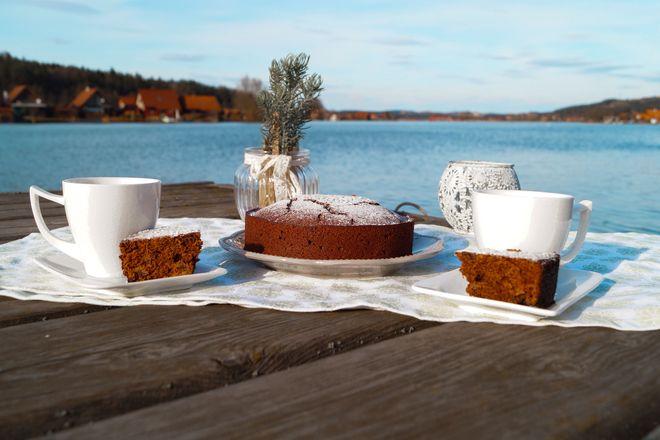 Schokoladenkuchen soll schön saftig und intensiv schmecken. Das gelingt unter anderem durch Edelmond Kakaomus als Zutat.