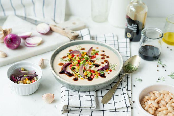 Rezepttipp: Weiße-Bohnen-Suppe mit Fenchel und Gemüse