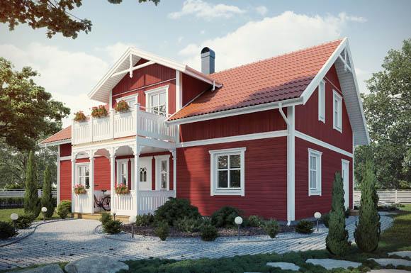 mit schwedenhäusern lassen sich individuelle wohnideen bestens ... - Wohnideen Schwedenhaus