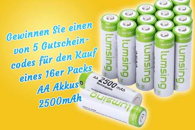 Batterien größen