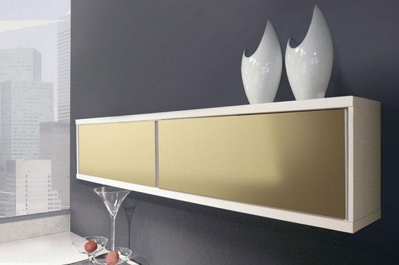 Möbel verschönern mit Effektplatten in schimmernder Metall-Optik ...