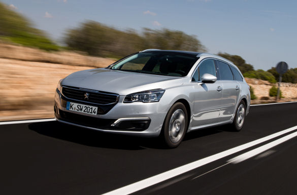 Peugeot 508 als Kombiversion SW