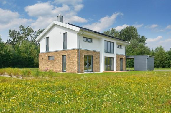 Nordische landhaus architektur und das bauen mit holz for Klassischer baustil