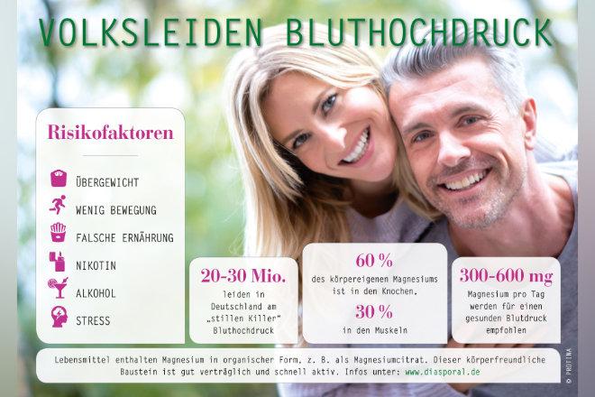 Etwa ein Drittel aller Betroffenen in Deutschland wissen gar nicht, dass ihr Blutdruck zu hoch ist.