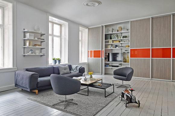 stauraum schaffen flexibles regalsystem verschwindet hinter schiebet ren ratgeberbox tipps. Black Bedroom Furniture Sets. Home Design Ideas