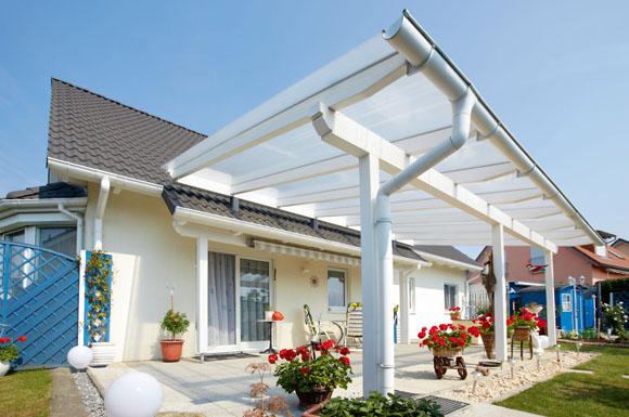 Perfect Freiluftwohnzimmer Mit Durchblick: Bei Der Bedachung Der Terrasse Sollten  Heimwerker Auf Hochwertige Materialien Achten,